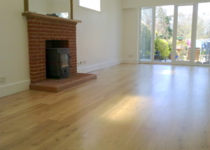Solid Oak Floor Boards
