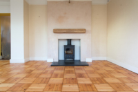 Pine Wood Blocks Sanded by Floorwork Swanage.